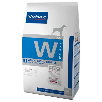 Virbac Veterinary HPM W1 Weight Loss & Diabetes pour chien
