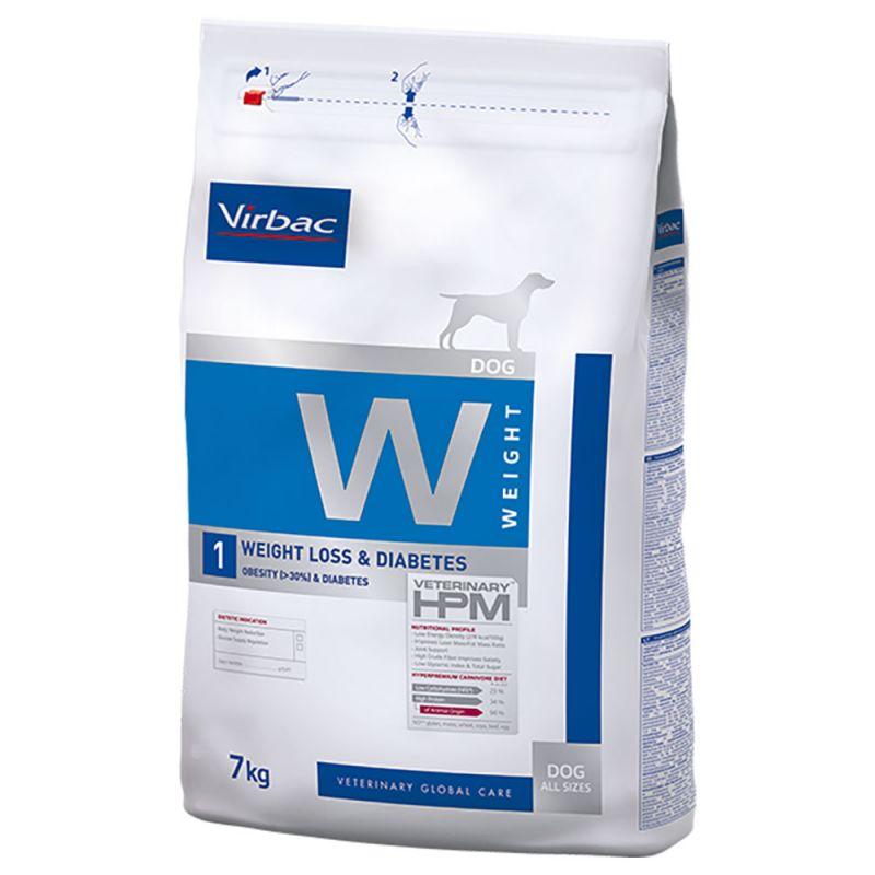 Virbac W1 Veterinary HPM Weight Loss & Diabetes para cães