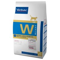 Virbac W1 Veterinary HPM Weight Loss & Diabetes para gatos