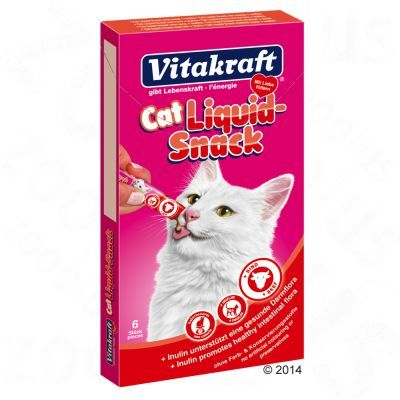 Vitakraft Cat Liquid Snack 48 x 15 g