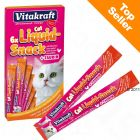 Vitakraft Cat Liquid-snack s kuřetem + taurin
