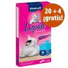 Vitakraft Cat Liquid-Snack 24 x 15 g: 20 + 4 ¡gratis!
