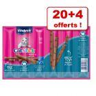 Vitakraft Cat Stick Classic ou Healthy 20 x 6 g + 4 bâtonnets offerts !