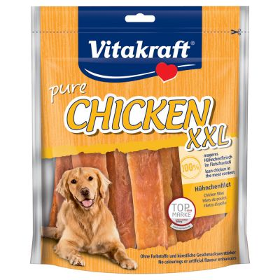 Vitakraft Chicken, Kyllingefilet XXL