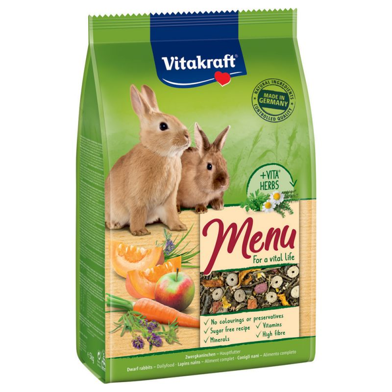Vitakraft Menü Vital -kaninruoka