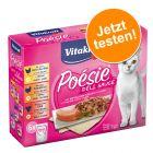 Vitakraft Poésie DéliSauce Mixpaket Pouch 6 x 85 g