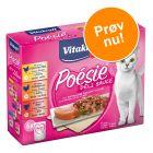 Vitakraft Poésie DéliSauce Mixpakke Pouch 6 x 85 g