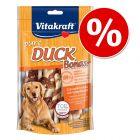 Vitakraft pure DUCK Bonas kości z wapniem, kaczka, 80 g w super cenie!