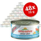 Voordeelpak Almo Nature Legend 48 x 70 g Kattenvoer