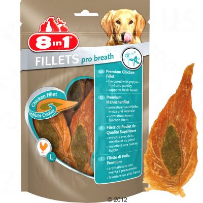 Voordeelpak 8in1 Fillets Pro Breath 5 x 80 g
