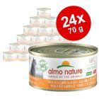 Voordeelpakket Almo Nature HFC Made in Italy 24 x 70g