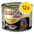 Voordeelpakket Animonda Carny Senior 12 x 200 g