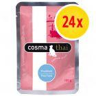 Voordeelpakket Cosma Thai / Asia maaltijdzakjes Kattenvoer 24 x 100 g