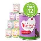 Voordeelpakket Feringa Menu Duo-Soorten Kattenvoer 12 x 800 g