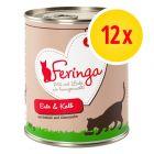 Voordeelpakket Feringa Menu Duo-Soorten 12 x 800 g Kattenvoer