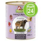 Voordeelpakket GranataPet Lievelings Maaltijd  24 x 800 g Hondenvoer