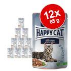 Voordeelpakket Happy Cat Pouch Meat in Sauce 12 x 85 g