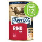 Voordeelpakket Happy Dog Puur 12 x 400 g