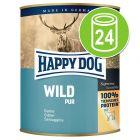 Voordeelpakket Happy Dog Puur 24 x 800 g Hondenvoer
