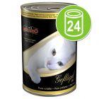 Voordeelpakket Leonardo All Meat Kattenvoer 24 x 400 g