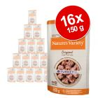 Voordeelpakket Nature's Variety Original Paté No Grain Mini 16 x 150 g