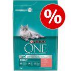Voordeelpakket Purina ONE 6 x 1,5 kg/ 3 x 3 kg Kattenvoer