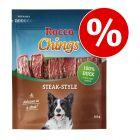 Voordeelpakket! Rocco Chings Steak Style Hondensnacks