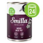 Voordeelpakket Smilla Multivleespotje Kattenvoer 24 x 400 g