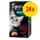 Voordeelpakket Tigeria Kattenvoer 24 x 85 g