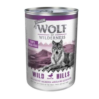 Voordeelpakket Wolf of Wilderness Senior 12 x 400 g