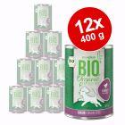 Voordeelpakket zooplus Bio Junior 12 x 400 g Hondenvoer