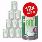 Voordeelpakket Zooplus Bio Senior 12 x 400 g Hondenvoer