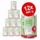Voordeelpakket Zooplus Bio Senior 12 x 400 g Kattenvoer