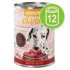 Voordeelpakket zooplus Classic 12 x 400 g