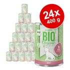 Voordeelverpakking zooplus Bio 24 x 400 g Kattenvoer