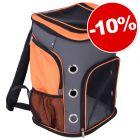 10% скидка! Voyage рюкзак серо-оранжевый