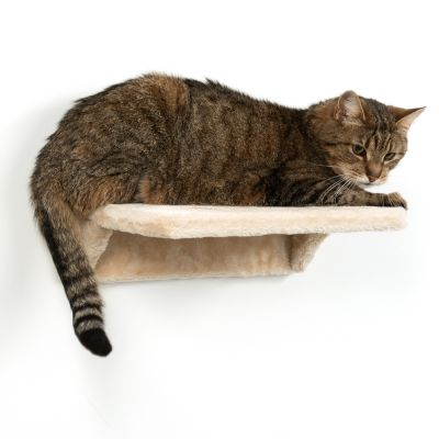 Wall Mounted Plush Cat Platform