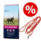 Welcome Kit Puppy & Junior Eukanuba + Lunghina da addestramento Heim