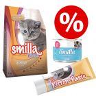 Welcome Kit Kitten Smilla: crocchette + umido + snack