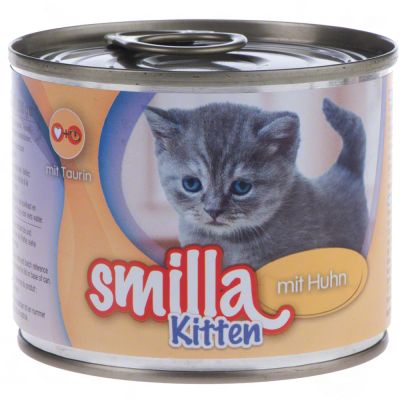 Welcome Kit Kitten Smilla + Lettino + Topo in peluche