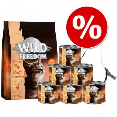 Welcome Kit Kitten Wild Freedom + Cannetta Bird