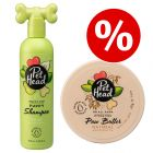 Welcome Kit Puppy & Junior Pet Head: Shampoo + Balsamo per le zampe
