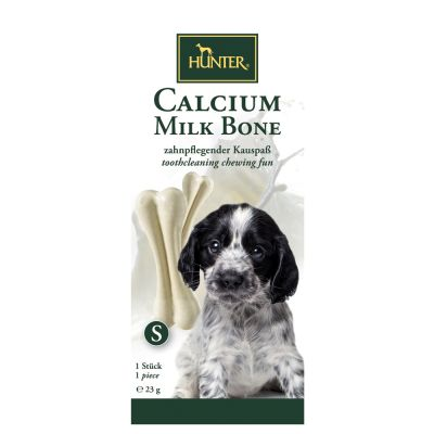 Welcome Kit Puppy & Junior Simpsons Premium + Hunter Calcium Milk Bone