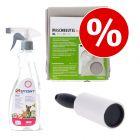 Welcome kit Puppy & Kitten Igiene: Spray + Spazzola + Busta