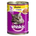 Whiskas 1+ Cans 12 x 390g/400g