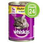 Whiskas 1+ lattine 24 x 400 g