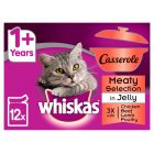 Whiskas Casserole Meaty Selection in Jelly