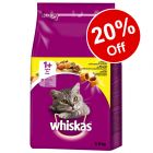 Whiskas Dry Cat Food - 20% Off!*
