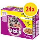 Whiskas Junior 2-12 meses 24 x 85 / 100 g en bolsitas