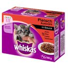 Whiskas Junior kapsička 12 x 85 g / 100 g